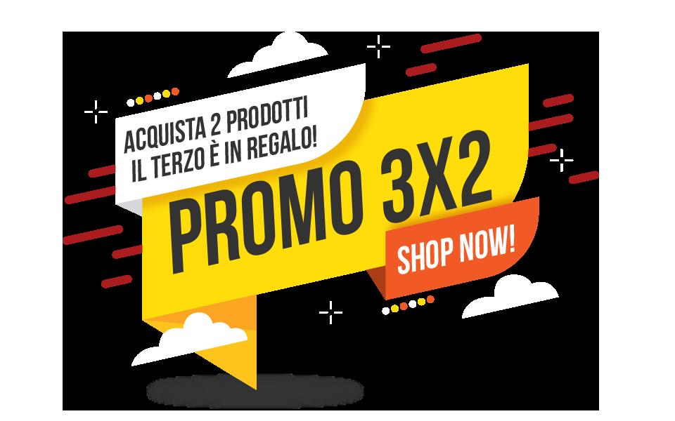 Promo 3x2 prodotti per capelli